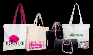 Notre gamme de sacs en tissu sur mesure