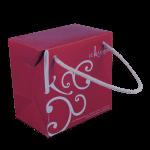 Modèle de sac boîte Le Karmin