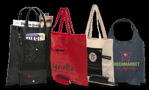 Notre gamme de sacs pliables