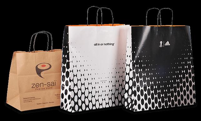 Notre gamme de sacs en papier type automatique