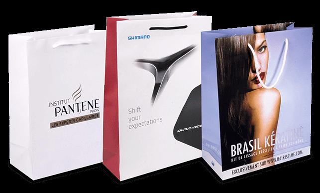 Notre gamme de sacs en papier luxe type manuel