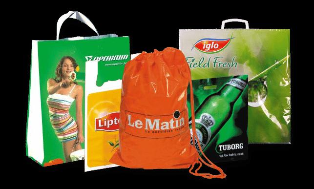 Notre gamme de sacs en plastique