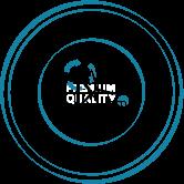 logo produit avec 100% d'énergie renouvelable